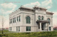 Nampa, ID Carnegie library, demolished