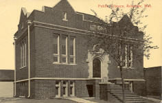 Schuyler, NE Carnegie library