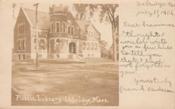 Thayer Memorial Library, Uxbridge, MA