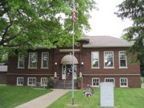 C 2018 by author, Judy Aulik. Wyoming, IL Carnegie library