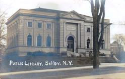 Schenectady, NY Carnegie library