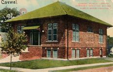 Carmel, Indiana Carnegie library