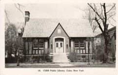 Cuba, NY library