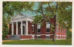 Salem, OH Carnegie library