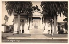 Santa Maria, CA USO Club, formerly a Carnegie library.