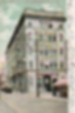 Elmira, NY Realty Building, containing the public library