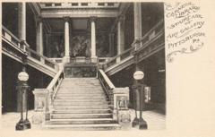 Carnegie Library Staircase of Art Gallery