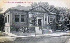 Marseilles, IL Carnegie library