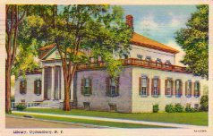 Ogdensburg, NY public library