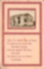 Alexandria, MN Carnegie library on poetry postcard