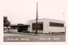 Porteville, CA public library