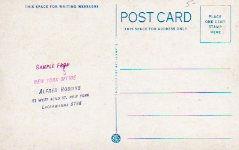 Curt Teich postcard reverse