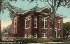 Galva, IL Carnegie library