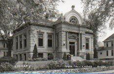 Carnegie-Ellsworth Library, Iowa Falls, IA