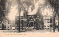 Greenfield, MA public library, replaced.