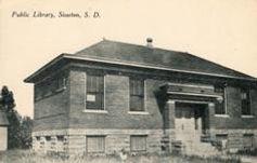 Sisseton, SD Carnegie library