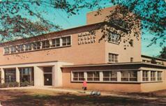 Norfolk, VA public library, mid-century.