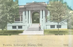 Gilroy, CA Carnegie library building