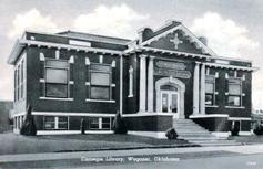 Wagoner, OK Carnegie library
