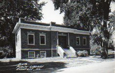 Rushville, IL Carnegie library