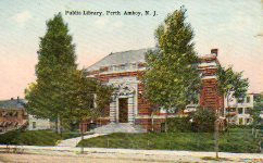 Perth Amboy, NJ Carnegie library