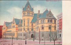 Buffalo, NY library, now demolished.