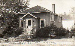 Thorp, WI's early public library