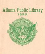 Seal of the Atlanta Public Library, 1899