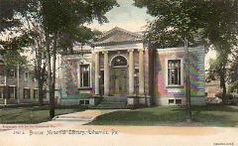 Benson Memorial Library, Titusville, PA