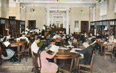 Interior, Carpenter Memorial Library, Manchester, NH