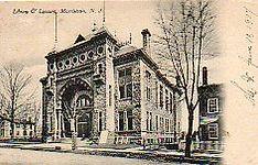 Morristown, NJ library