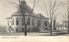 Greenville, IL Carnegie library