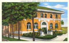 Meridian, Mississippi's Carnegie library.
