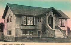 Laurens, IA Carnegie library