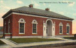 Jesup Memorial Library, Bar Harbor, ME