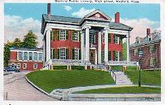Medford, MA public library
