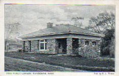 Tyringham, MA public library