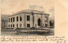 Hampton, IA Carnegie library