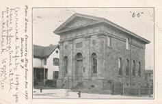 Burlington, NJ library, back in its public phase