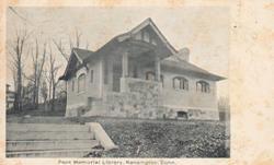 Kensington, CT's Peck Memorial Library