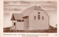 Popham Beach, ME library