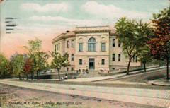 Yonkers, NY Carnegie library