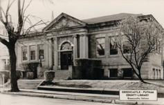 Greencastle, IN Carnegie library