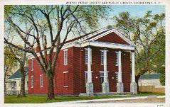 Winyah Indigo Society Library, Georgetown, SC