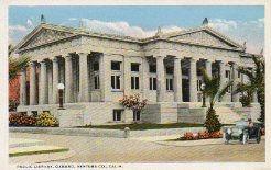 Oxnard, CA's Greek Revival Carnegie library.
