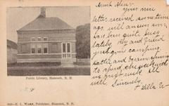 Hancock, NH public library