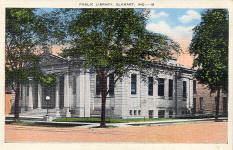 Elkhart, IN Carnegie library, no longer extant