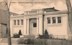 Babylon, Long Island public library