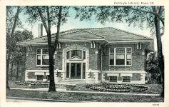 Pana, IL Carnegie library