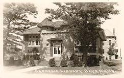 Hays, KS Carnegie library, demolished